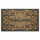 "Welcome Door Mat 18x30"" Coco Home Entryway Decor Porch Garage Gift New"