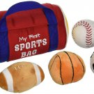 My First Sports Bag Playset Football Soccer Baseball Basketball Toddler Baby New