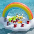 Inflatable Drink Holder Cup Food Pool Beach Swim Water Raft Toy Kids Adult New