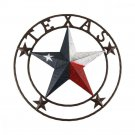 """Texas Star Decor Wall Art Patriotic Large 24"""" Home Barn Rustic Western Gift New"""