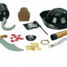 Kids Pirate Play Set Dress Up Toddler Toys Gift Boy Telescope Necklace Rings NEW