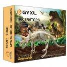GYXL 2nd generation Dino Toy Dig Kit, DIY Dinosaur Puzzle Fossil Toys, Kids...