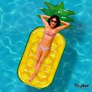Pineapple Pool Float Raft Toy Lounge Water Swim Beach Kids Adult Outdoor New