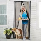Homitt Magnetic Screen Door With Heavy Duty Mesh Curtain Full Frame New