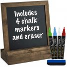 Tabletop Chalkboard Liquid Chalk Markers Eraser Wedding Rustic Decor Easel Wall