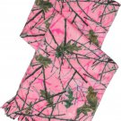 Scarf Pink Camo Camouflage Micro Fleece Soft Women Gift Her Hunting Outdoor New