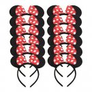 Minnie Mouse Dress Up Headbands Ears Set 12 Hair Costume Halloween Party New