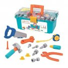 Kids Tool Box Toy Play Set Durable Building Pretend Construction Toddler Boy New