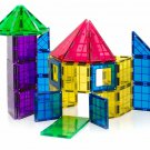 Kids Magnetic Building Blocks Play Set 100 Pc Tiles STEM Learn Toy Boy Girl New