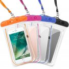 Waterproof Phone Pouch Case Protection Swim Beach Pool Dry Bag Set 4 Travel New