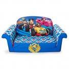 Kids Mickey Mouse Sofa Foam 2 in 1 Flip Open Toddler Boy Gift Furniture New