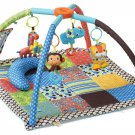 Baby Activity Gym Baby Boys Soft Take Along Travel Toys Gift Infant Mirror New