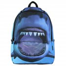 Backpack Shark Book Bag Boys Girls Kids School Storage Travel Hiking New