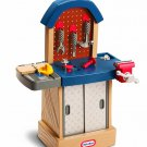 Kids Workshop Workbench Tool Play Set Little Tikes Toddler Boy Pretend Toy New
