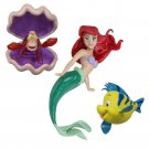 Princess Ariel Bath Toy Beach Pool Water 3 Pack Dive Stick Kids Toddler Girl New