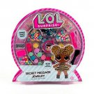 LOL Surprise Secret Message Jewelry Sticker Charms Beads Kids Girl DIY Gift New