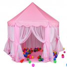 Kids Play Tent House Indoor Outdoor Pink Castle Princess Toddler Toy Gift New