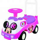 My First Minnie Mouse Ride On Kiddieland Car Driving Pink Mickey Pretty Toy New