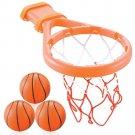 Bath Toy Basketball Net Play Set Kids Toddler Baby 3 Ball Pretend Gift Boy NEW