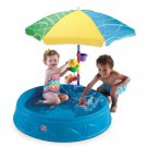 Pool Shade Tent Kids Toddler Boy Girl Outdoor Activity Water Step2 Seats New