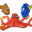 Kids Water Toys Finding Dory Nemo Set 3 Pool Swimming Dive Soft Flexible New