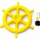 Captains Ship Toy Wheel Jungle Gym Pirate Kids Swing Set Accessory New