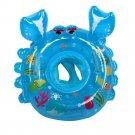 Baby Pool Float Raft Ride On Lounge Crab Toy Water Beach Swim Toddler Gift New