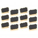 Mini Chalkboards Stand Signs Set 12 Rustic Wedding Party Home Decor Craft DIY