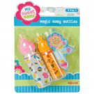 Kids Baby Doll Magic Bottles Pretend Play Toddler Boy Girl Gift Toy Feed New