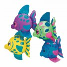 Mini Inflatable Fish Set Floating Water Pool Ocean Parties 1 Dozen Kids Play New