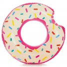 Donut Inner Tube Inflatable Pool Raft Lounge Float Kids Adult Beach Water New