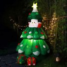 Inflatable Christmas Tree LED Light Up Outdoor Party Decoration Yard 6 FT New