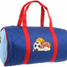 Quilted Duffle Sports Bag Stephan Joseph Kids Boys Bags Overnight Sport New