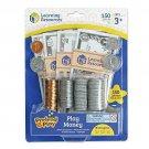 Kids Play Money Learn Educational Toy Math School Pretend 150 Piece Gift New