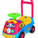 Ride On Car Toy Mickey Mouse Kids Toddler Baby Activity Indoor Outdoor Gift New