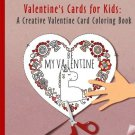 Kids Valentine Cards Coloring Book Boy Girl Cut Outs Gift Toddler New