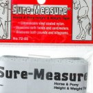 Horse Pony Tape Measure Height Weight Barn Stable Tack Trailer Supplies New