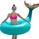 Inflatable Mermaid Tail Pool Float Raft Kids Adult Toy Beach Outdoor Gift New