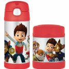 Thermos FUNTAINER Paw Patrol 12 oz Bottle and Paw Patrol 10 oz Food Jar NEW