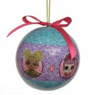 LOL SURPRISE! Doll CHRISTMAS Tree Ornament Ball Holiday Glitter Decoration NEW