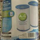 POLYGROUP SUMMER ESCAPE POOL FILTER CARTRIDGE REPLACEMENT TYPE A /C 2 Pack