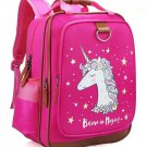Unicorn Backpack 15 Inch Girl Kids School Travel Cute Pink Lightweight New