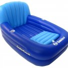 Pool Lounger Couch Raft Float Cooler Drink Cup Holders Beach Water Inflatable