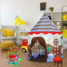 Kids Pirate Castle Play Tent Hut Indoor Toddler Boy Girl Pretend Gift New