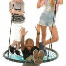 "Tarzan Tree Tire Swing Spider Web 40"" Playground Outdoor Kids Toy Gift New"