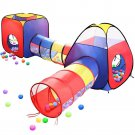 Kids Play Tent 4 in 1 Ball Pit House Toy Toddler Hut Indoor Outdoor Gift New