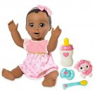 Baby Doll Brown Hair Interactive Sounds Toy Pretend Play Luvabella Girl Gift New