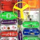 Kids Circuit STEM Toy Science Learn Educational Boy Girl Gift 58 DIY Radio New