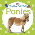 Baby Horse Board Book Touch Feel Ponies Toddler Kids Toy Animal Boy Girl New