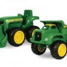 John Deere Tractor Truck Play Set Kids Toy Sand Boy Girl Farm Gift Pretend New